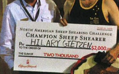 Gietzen wins Dakota dust-up to claim Stampede shearing crown